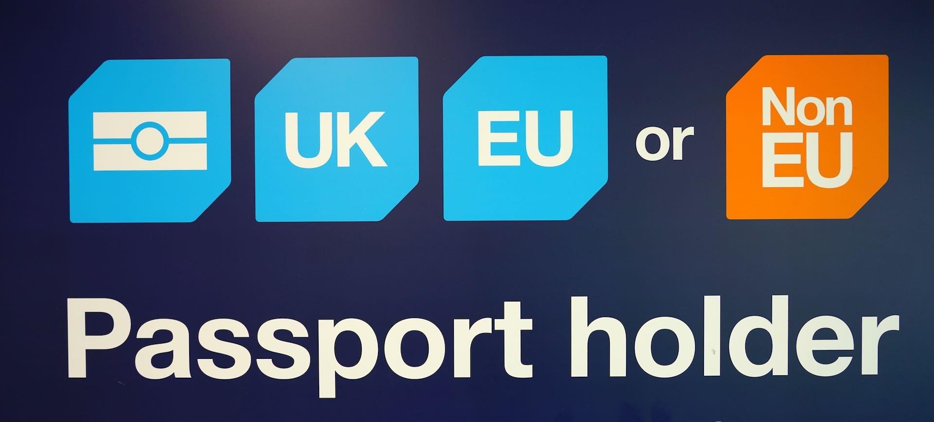 Why British need EU passport